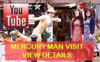 Mercury Man Fleurtations Braintree